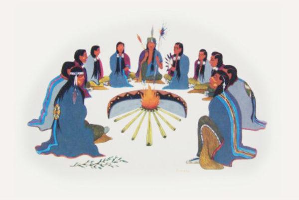 Krag 1080x722px 1024x685 600x401 - 5.7.07.2019 <br>Ceremonia Czterech Tytoni z Renato Gonzalez